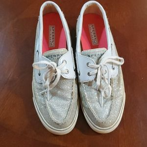 Sparkly Sperry Topsiders!